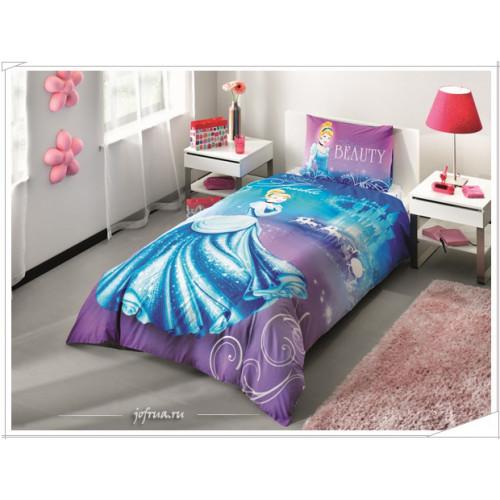 Детское постельное белье Принцесса Золушка