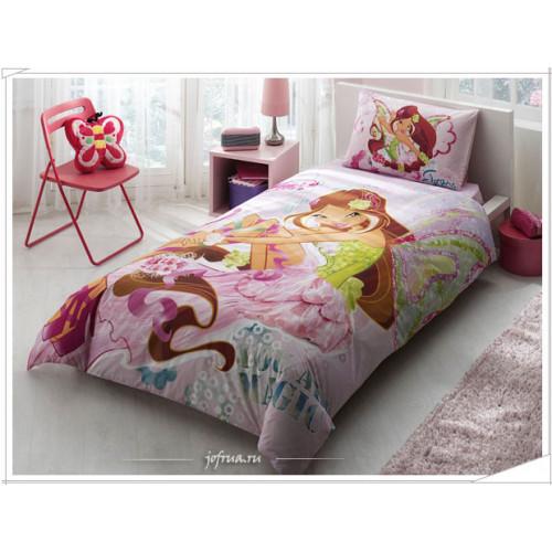 Детское постельное белье Винкс: Волшебная Флора - TAC Winx Harmoniх Flora