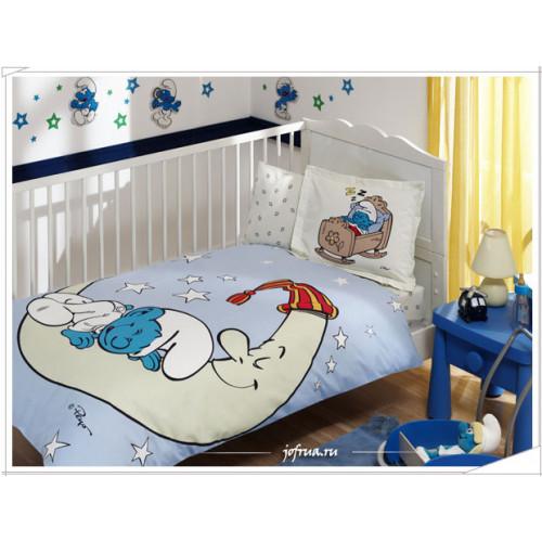 Детское белье в кроватку TAC Sirinler Moon Baby