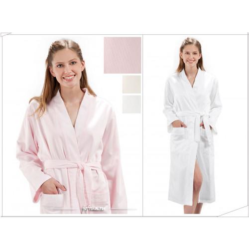 Халат женский Soft Cotton Double Face (розовый)