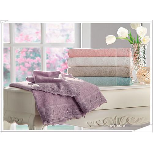 Набор полотенец Tivolyo Fancy (розовый) 3 предмета