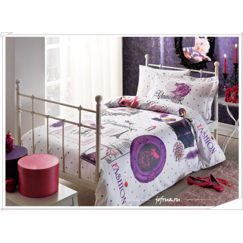 Постельное белье Tivolyo Glamour Мода-Париж-Стиль 1.5-спальное