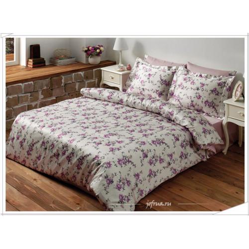 Постельное белье Tivolyo Floral (лиловое)