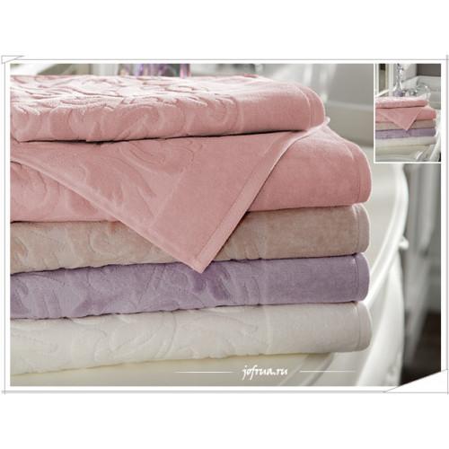 Полотенце Tivolyo Baroc (розовое)
