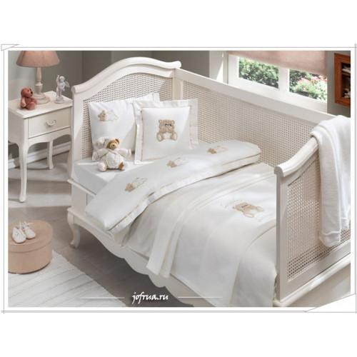 Детское белье в кроватку Tivolyo Lovely (бежевое)