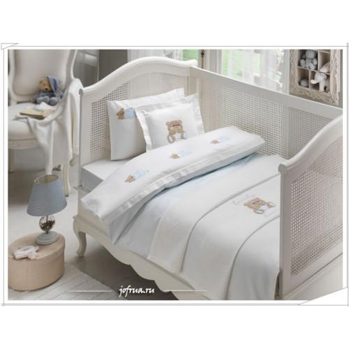 Детское белье в кроватку Tivolyo Lovely (голубое)