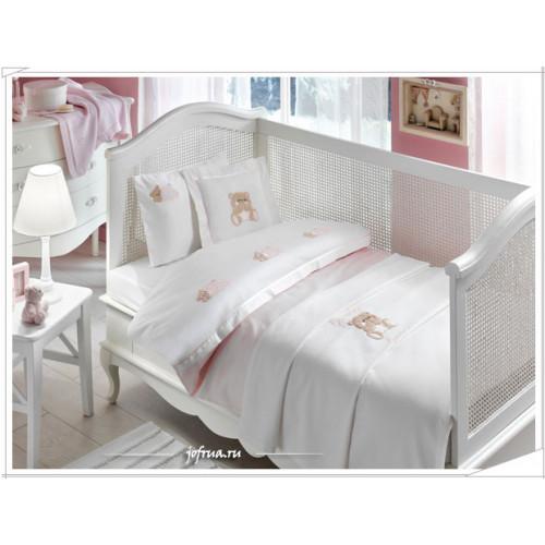 Детское белье в кроватку Tivolyo Lovely (розовое)