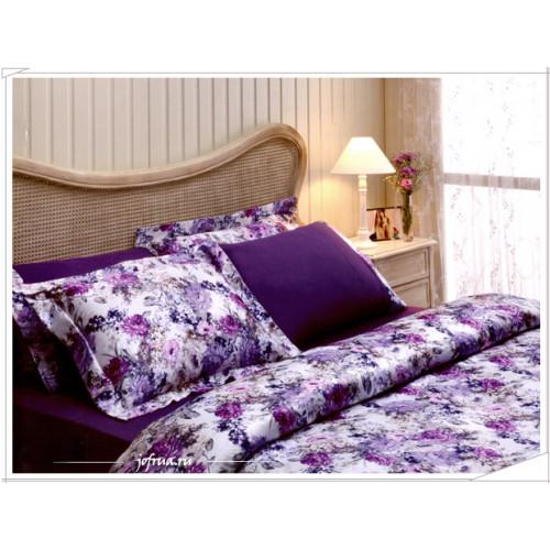 Постельное белье Tivolyo Florido (фиолетовое)