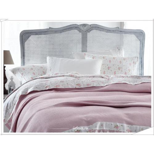 Свадебный набор Gelin Home Roza с пике (розовый) евро