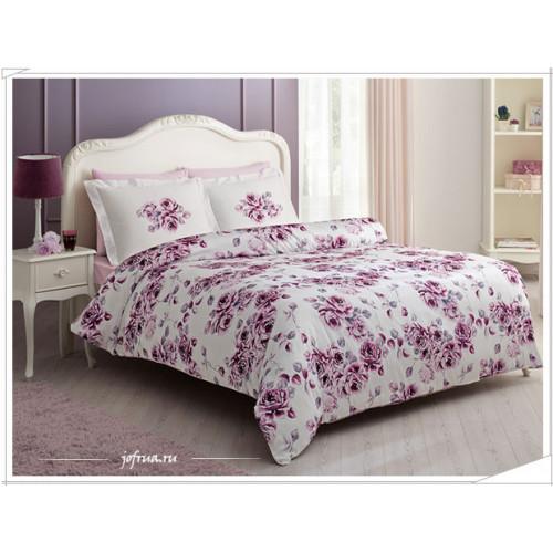 Постельное белье Tivolyo Home Purple Rose
