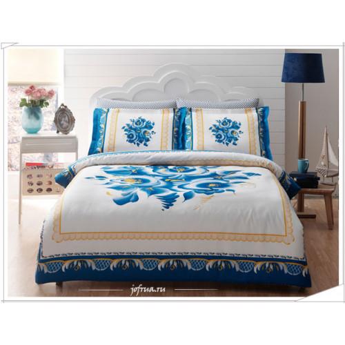 Постельное белье TAC Ocharovanie (голубое)