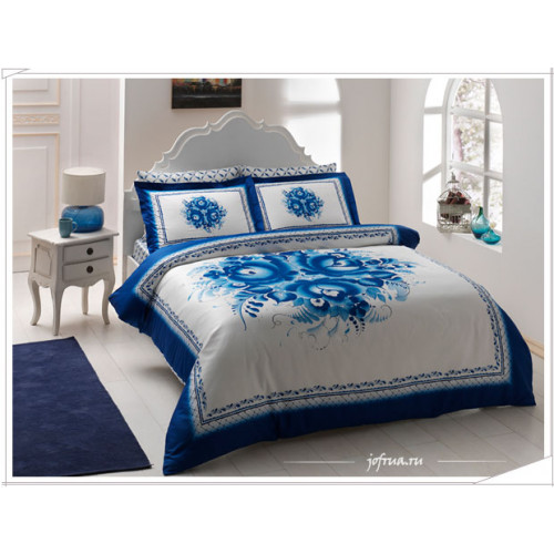 Постельное белье TAC Idilliya (голубое)