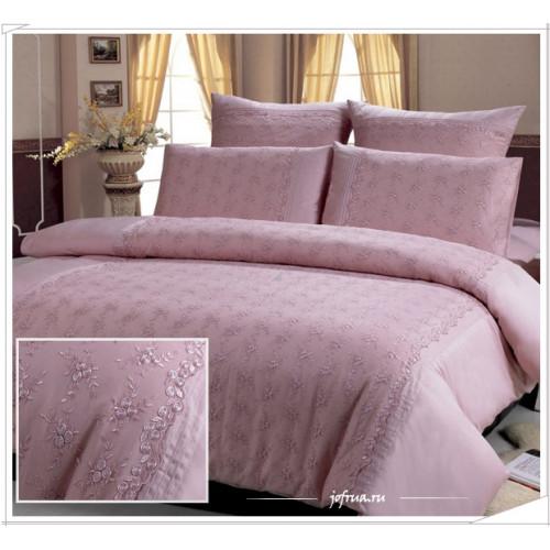 Постельное белье Kingsilk LS-004 (розовое)