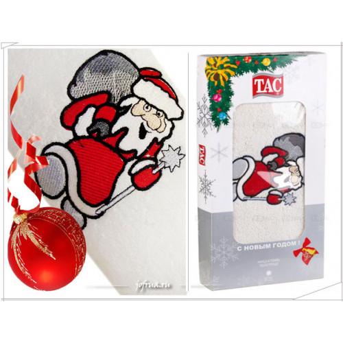 Подарочное полотенце TAC Santa Claus (белое)