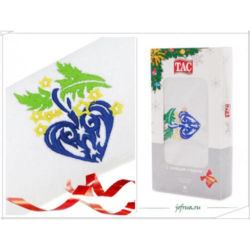 Подарочное полотенце TAC Christmas Toy (белое)