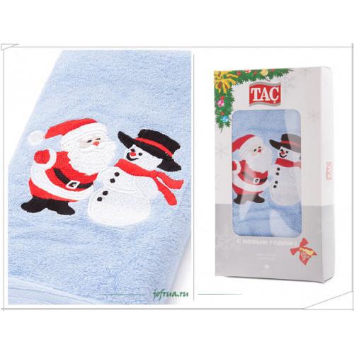 Подарочное полотенце TAC New Year Holidays (голубое)