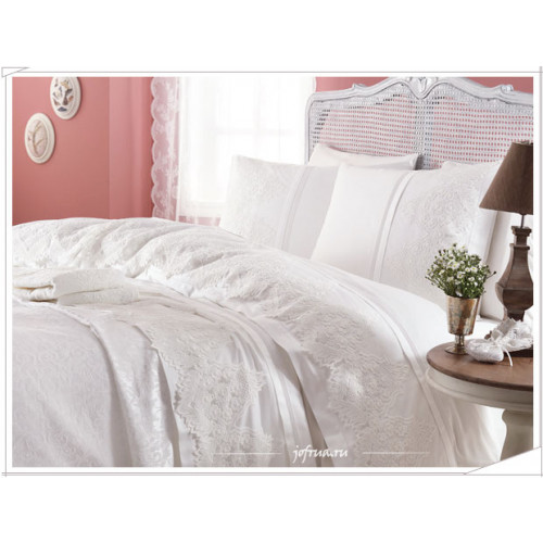 Свадебный набор Gelin Home Donna (белый) евро