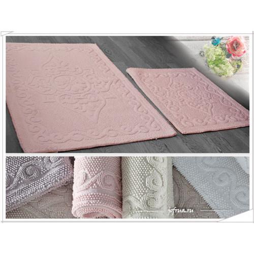 Набор ковриков Gelin Home Sonil (2 предмета) розовый