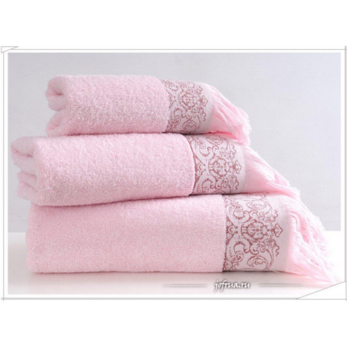 Полотенце Irya Antik (розовое)