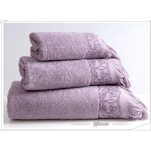 Полотенце Irya Antik (фиолетовое)