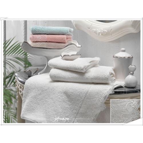 Набор полотенец Tivolyo Alianz (розовый) 3 предмета