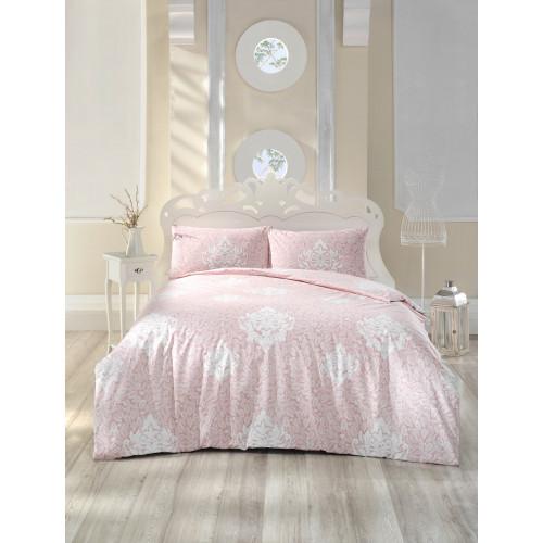 Постельное белье Altinbasak Snazzy (розовое) евро