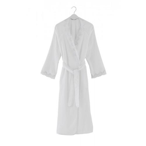 Халат женский Soft Cotton Angelic (белый)