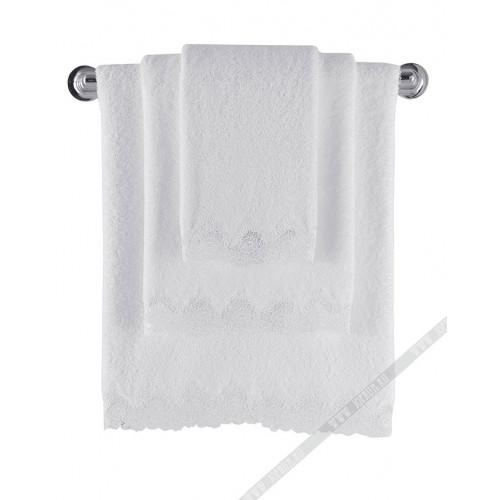 Полотенце Soft Cotton Angelic (белое)