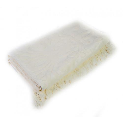 Полотенце с бахромой Arya Isabel (кремовое)