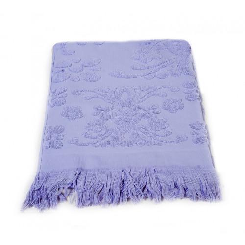 Полотенце с бахромой Arya Isabel (лиловое)