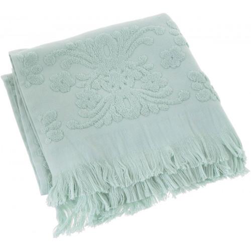 Полотенце с бахромой Arya Isabel (мятное)