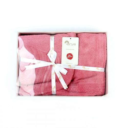 Набор для сауны женский Arya Sante (сухая роза)