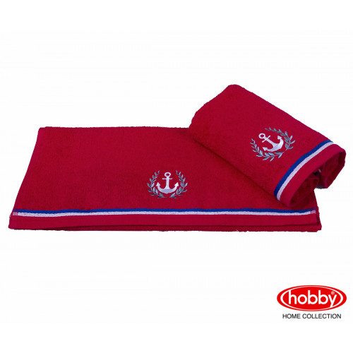 Полотенце Hobby Home Collection Maritim (красное)