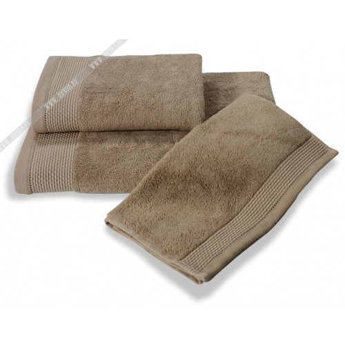 Полотенце Soft Сotton Bambu (бежевое)