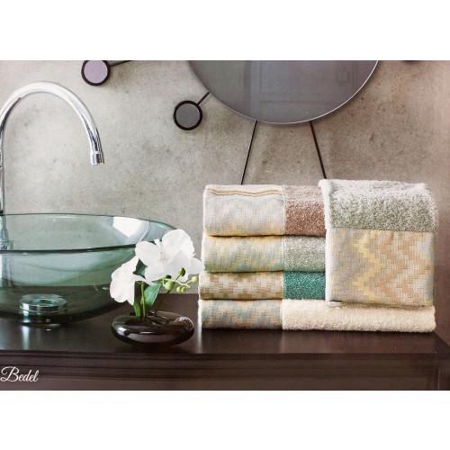 Набор полотенец La Villa Bedel (коричневый) 2 предмета