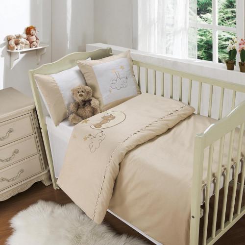 Sofi de Marko Мишутка на луне (бежевый) детский комплект в кроватку