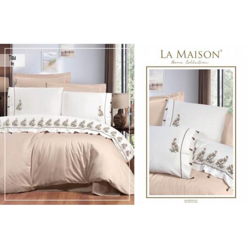 Постельное белье La Maison Tina bej евро
