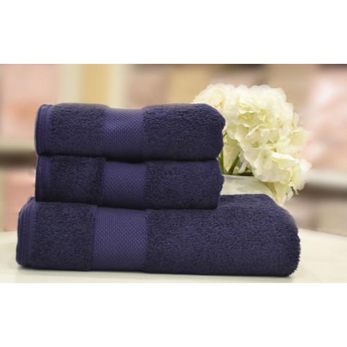 Полотенце Soft Сotton Deluxe (фиолетовое)