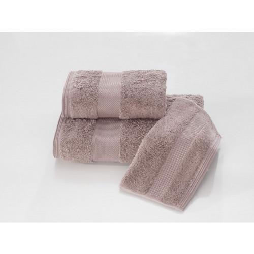 Полотенце Soft Сotton Deluxe (коричневое)