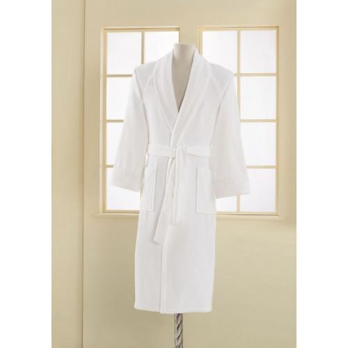 Мужской халат Soft Cotton Deluxe из модала и хлопка