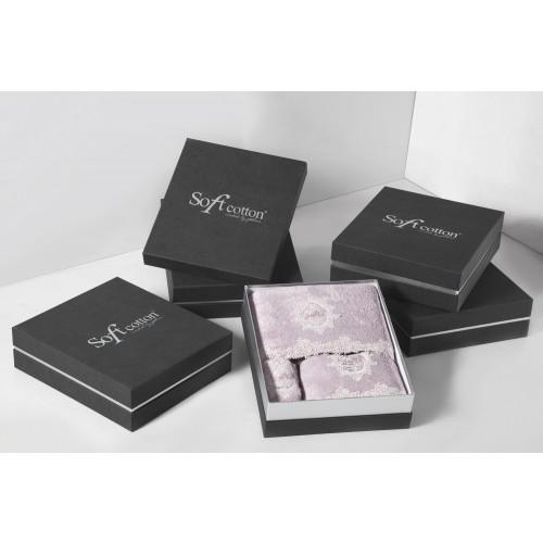 Набор полотенец Soft Cotton Destan (лиловый) 3 предмета