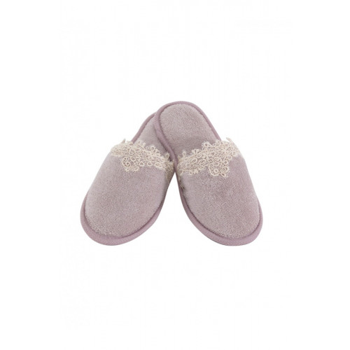 Тапочки Soft Cotton Destan (лиловые)
