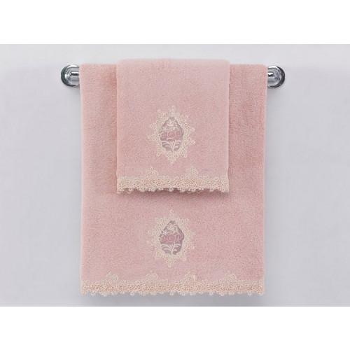 Полотенце Soft Сotton Destan (розовое)