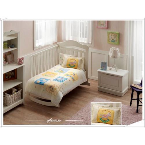 Детское белье в кроватку TAC Baby Game (желтое)