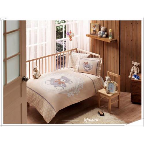 Детское белье в кроватку TAC Little Bear (кофе)