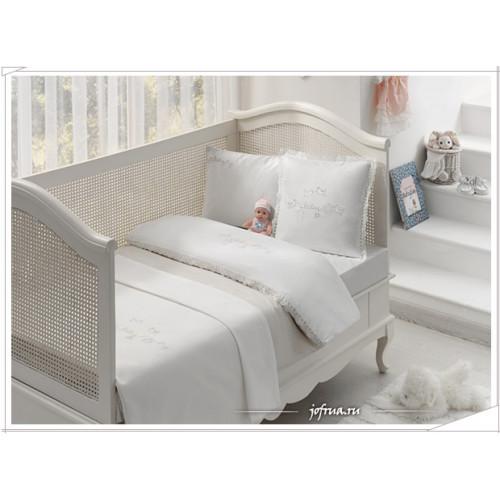 Детское белье в кроватку Tivolyo Couple (бежевое)