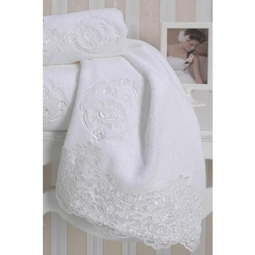 Полотенце Soft Cotton Diana (белое)