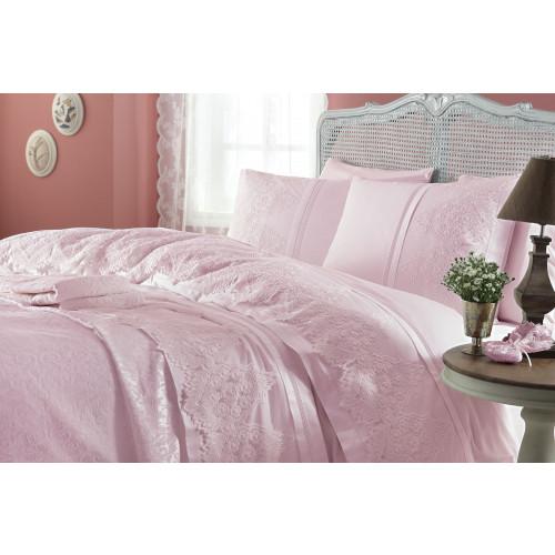Свадебный набор Donna (розовый) евро
