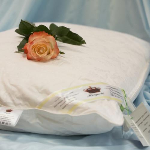 Подушка Kingsilk Elisabette Элит-Престиж белая (шелк 100%)