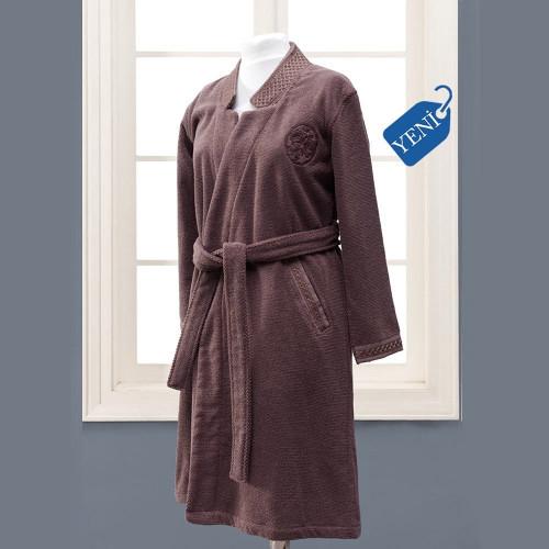 Халат женский Soft Cotton Eliza (фиолетовый)